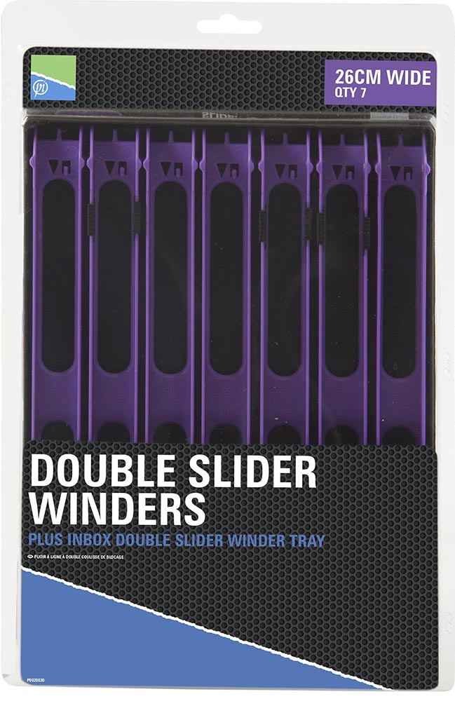 Plioirs Inbox Winder Trays 26cm Wide Violet x 7 - P0020030