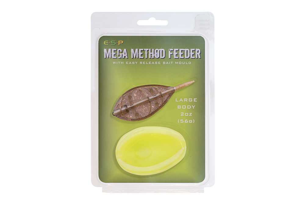 Feeders Mega Method Feeder Large avec Moule